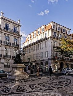 I want to be in Lisbon, Portugal.