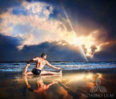 Yoga classes on a sacred Balinese beach at Floating Leaf Eco-Luxury Retreat. http://balifloatingleaf.com/yoga-on-the-beach/ #RESORT | #SPA | #YOGA Facilitating vibrant and lasting wellness. #Wellness #luxurytravel #exclusive #happy #surf #Eco #Retreat #luxury #5star #pool #Meditation #detox #Art #BaliYoga #YogaRetreat #Beach #ocean #travel #gourmet #nutrition #getaway #wanderlust #vacation #hotels #lifestyle #resort #luxurylifestyle #firstclasstravel #thegoodlife #fivestar
