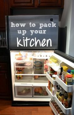 The DIY Playbook teaches us how to pack up the tough spots in your kitchen: the pantry, refrigerator, and freezer. Moving House Tips, Moving Home, Moving Tips, Moving Day, Moving Hacks, Move On Up, Big Move, Moving Organisation, Organizing For A Move