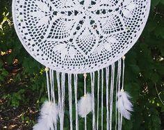 Boho Dreamcatcher-Nursery Mobile-Wedding Decor