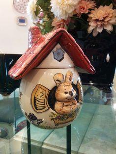 Feliz páscoa Bomboniere de coelho