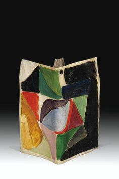 BIBLIOTHÈQUE  Recently on the block @ Sotheby's. WOW! lot 53 CENDRARS, BLAISE - DELAUNAY, SONIA Trans-Siberian PROSE AND SMALL JEHANNE OF FRANCE. COLORS OF CONCURRENT MME Delaunay-TERK. PARIS, NEW EDITIONS OF MAN, IN 1913-12 (FLYER 2 MX 36 CM) UNDER COVER IN PARCHMENT PAINTED BY HAND, interlocking of PLEXIGLAS.   Estimate  120,000 - 150,000  EUR  LOT SOLD. € 253.500