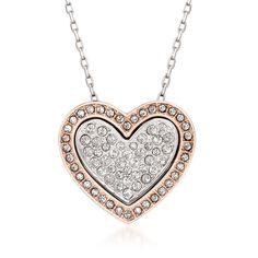 Swarovski cupid heart