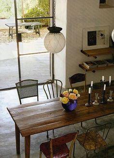 Beautiful Narrow Rustic Farm Table | Home Sweet Home | Pinterest | Rustic Farm Table,  Farming And Tables