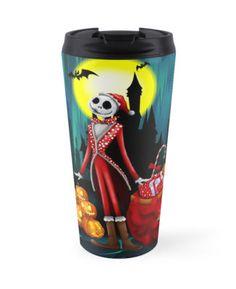 Halloween jack santa claus skellingtons  Travel Mugs #travel #mug #travelmug #cartoons #kids #holliday #christmas #halloweenskull #thenightmarebeforechristmas #jackskellington #halloweencostume #sally #pumpkins #halloweenpumpkin #tjackskelleton #pumpkinking #jackandsally #skellington #nightmarebeforechristmas