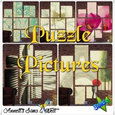Annett's Sims 4 Welt: Puzzle Pictures