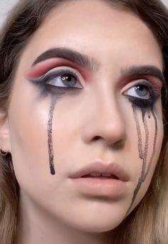 Creepy Makeup, Edgy Makeup, Simple Makeup, Pastel Goth Makeup, Lace Makeup, Zombie Makeup, Gothic Makeup, Fx Makeup, Makeup Eyes