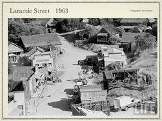 LARAMIE Street--Universal backlot A lot of scenes were filmed. Universal Studios, John Smith Actor, Laramie Tv Series, James Dean Photos, Super Movie, Robert Fuller, Best Hero, Michael Landon, The Virginian
