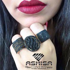 COMPRE no ATACADO  e tenha mais de 300% de lucro na ASHISA São Mais de 5 Mil modelos #brincos #anel #pulseiras #gargantilha #pingente #colar #corrente  #semijoias e #Moda #Intima, seja um revendedor Ashisa o 1º #MMN de acessórios do Brasil Druzy Ring, Jewelry, Fashion, Bracelets, Ear Rings, Neck Choker, Chains, Crystals, Necklaces