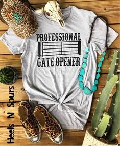 Professional Gate Opener Tee Monogram Fishing Shirt Ideas of Monogram Fishin - Monogram Fishing Shirt - Ideas of Monogram Fishing Shirt - Professional Gate Opener Tee Monogram Fishing Shirt Ideas of Monogram Fishing Shirt Professional Gate Opener Tee Country Girl Shirts, Country Style Outfits, Southern Outfits, Western Outfits, Shirts For Girls, Country Girl Fashion, Cute Cowgirl Outfits, Cowgirl Dresses, Rodeo Outfits