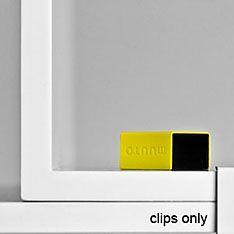 muuto stacked clip pk 5 yellow