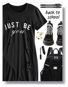 """""""Back to school!"""" by simona-altobelli ❤ liked on Polyvore featuring Proenza Schouler, Paper Mate, Bobbi Brown Cosmetics, BackToSchool and polyvorecontest"""