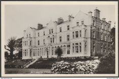 Bay Hotel (Facing Sea), Falmouth, Cornwall, c.1960 - Southwoods RP Postcard