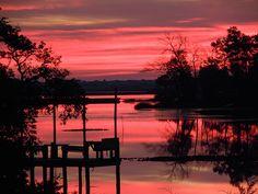Dawn over Topsail NC