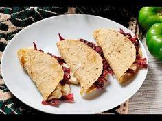 Quesadillas con flor de jamaica al estilo de Sonia Ortiz por Cocina al natural