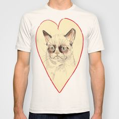 Grumpy Cat Love T-shirt