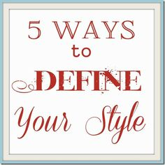 5 ways to define your design style with help from @AptGuide