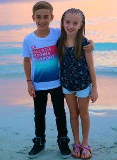 Lauren orlando and her brother johnny orlando