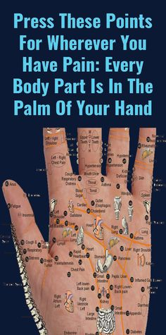 Important Acupressure Points On Your Hand To Heal Yourself – acupression