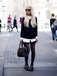 Black & white by victoriatornegren | STYLIGHT