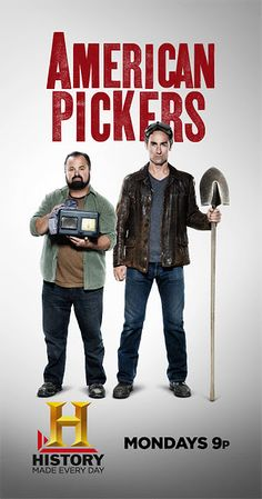 American Pickers...proof that one man's trash is another man's treasure!  Some serious junkin'!  ;-)