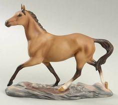 Franklin Mint Great Horses of the World Akhyl-Teke - No Box