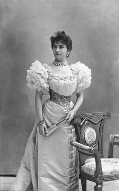 Sigrid Arnoldson, 1905. Nadar.