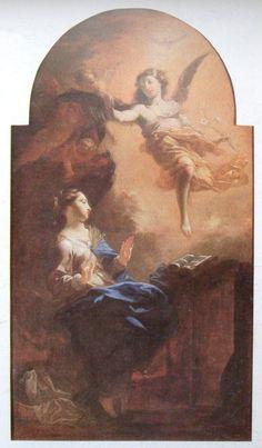 Petr Brandl - Zvěstování Panně Marii - 1697