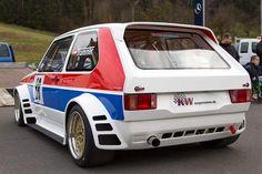 Wide body Swallowtail by Volkswagen Golf Mk1, Vw Mk1, Golf 1, Automotive Industry, Automotive Art, Vw Racing, Wide Body, Custom Cars, Race Cars