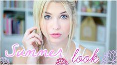 [ GRWM n°24 ] : Summer Look ♡ Makeup, Coiffure & Tenue !
