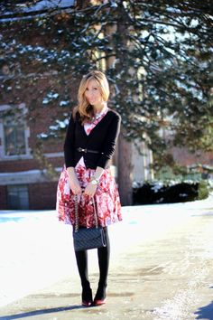 Lilly Style: cherry blossom winter style