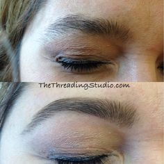 13 Best BEFORE AND AFTER FACE & EYEBROW THREADING images in