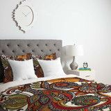 Valentina Ramos Paradise Bird Duvet Cover | DENY Designs Home Accessories