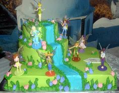 tinkerbell pirate cakes | Tinkerbell Cakes – Decoration Ideas