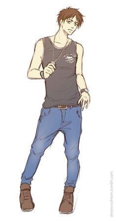 Eren who is a hotty with a body
