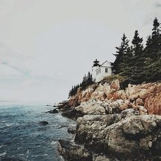 Bass Harbor Light in Bass Harbor, Maine / photo by Tyler Aldrich / thanks! My favorite place in the world. I miss my Maine family! Wonderful Places, Beautiful Places, Lovely Things, Amazing Places, Oh The Places You'll Go, Places To Travel, Harbor Lights, Worldwide Travel, Adventure Is Out There