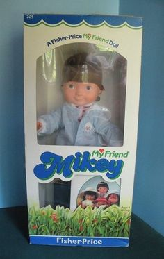 VINTAGE FISHER PRICE #205 MY FRIEND MIKEY DOLL NEW IN BOX!  $90.00 #teamsellit #bonanzateamsellit