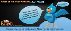 "#Congratulations ""RAM PRASAD"" - You have won our #tweet of the Week #Winner #Contest!!!  You have #won rs. 500/- #cash #free....  He Tweeted: """"DAILY"" play ""JUMBO"" tourney on classic rummy, and ""ENJOY"" real rumming.. So guys ""JOIN"" JOIN JOIN,,,,,,,"" http://www.classicrummy.com/?link_name=CR-12 ""  All are invited to participate all you need is follow us @ www.twitter.com/classicrummy"