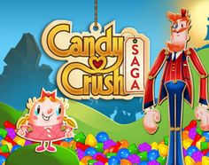 Backdrop for Candy Crush Birthday Party