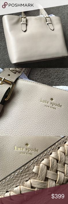 ♠️ Kate Spade luela Olson way hand bag NEW ♠️ Kate Spade luela Olson way hand bag NEW color moussfrost.  Extra large bag Item specifics Bag Depth:6 inchesStyle:Totes & Shoppers Bag Length:19 inchesMaterial:Leather Strap Drop:10 inchesColor:mushroom Size:Extra LargeBag Height:12 inches kate spade Bags Shoulder Bags