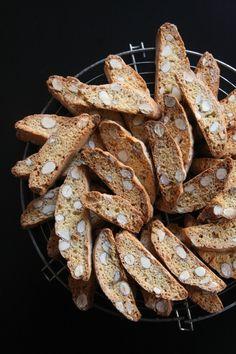 * Cantuccini aux amandes - Essayer avec de la farine d'épeautre