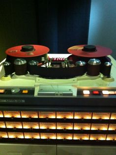 Otari MTR 90 Mk2 Mechanical Gears, Recording Equipment, Studio Gear, Audio Sound, Tape Recorder, Sound Waves, Recording Studio, Music Stuff, Bbc