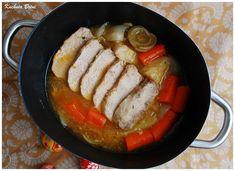 Schab duszony w warzywach - Sausage, Meat, Food, Sausages, Essen, Meals, Yemek, Eten, Chinese Sausage
