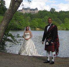 Fairytale highland wedding!