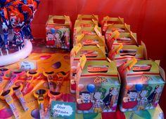 Chavo del Ocho Party ~ Desserts ~ Favor Boxes