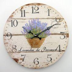 Relógio Vintage Lavanda
