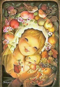 """Orchard Mother and Child"" by Juan Ferrandiz"