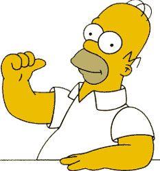 Las 10 cosas que no sabías de Homero Simpson (Homer Simpson) Bart Simpson, Drawings, Fictional Characters, Gabi, Funny Memes, Men, Characters, Supreme T Shirt, Cartoon