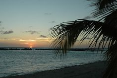 Sunset on Mambo Beach, Curaçao by Koen Muurling, via Flickr