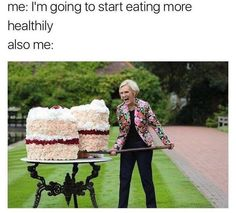 I don't like cake but still